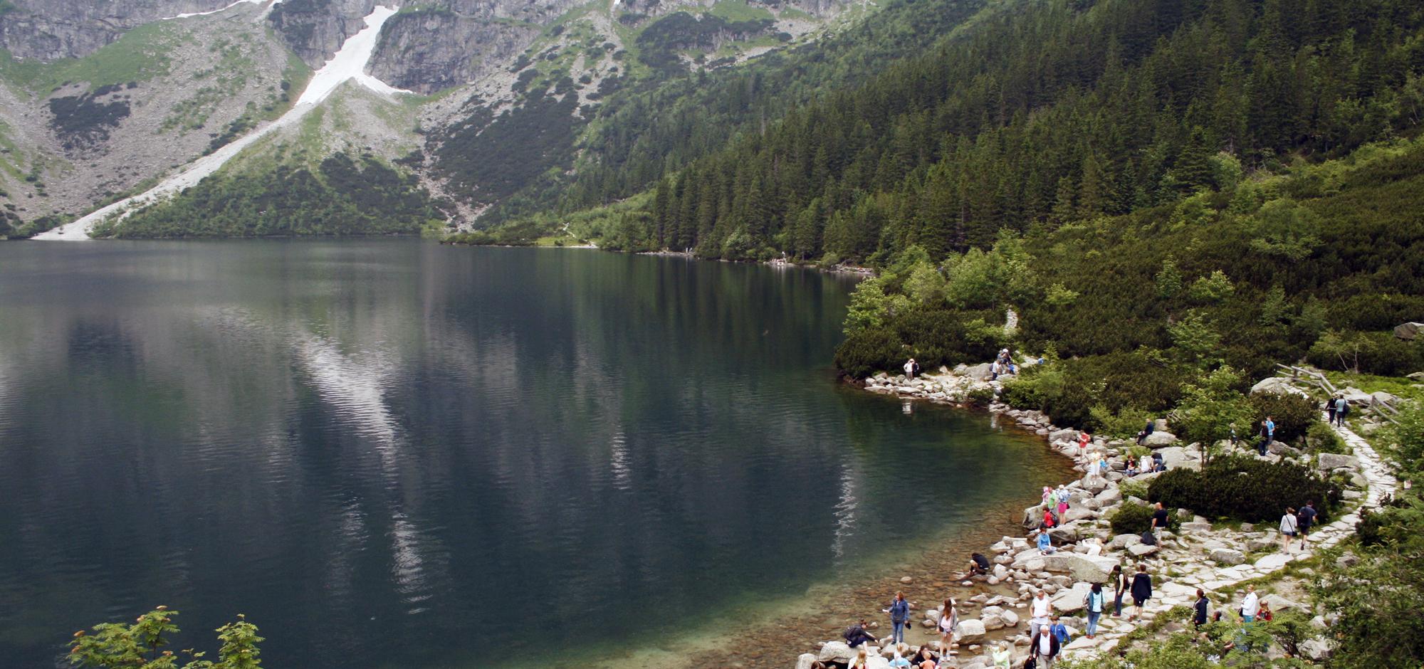 Озеро Морское Око, Польша.